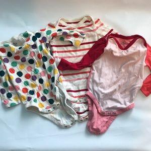 Baby Gap long sleeve onesies 6-12 months